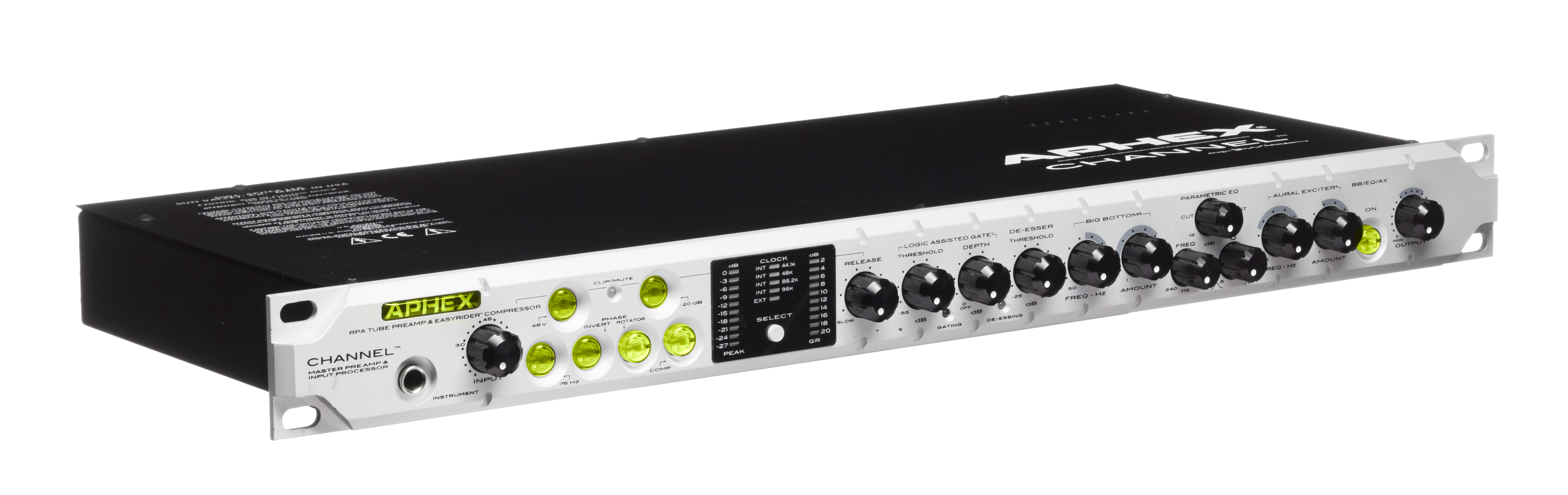 Channel Products For Professional Audio Recording Broadcast Dynamic Mic Preamplifier Owners Manual